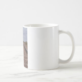 Never Ending Railroad Tracks Coffee Mugs