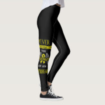 NEVER...Endometriosis Leggings