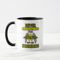 NEVER...Endometriosis Mug