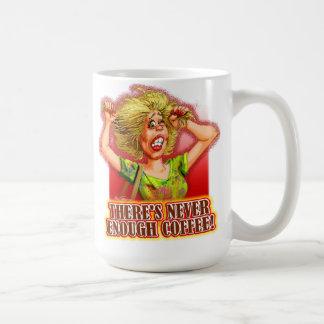 Never Enough Coffee (lady) Mug