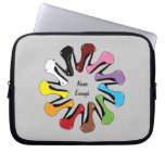 Never Enough Shoes (Customizable) Laptop Computer Sleeve