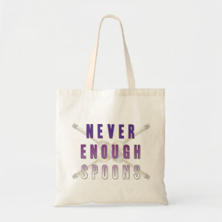 Never Enough Spoons Tote Bag