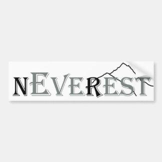 Never-Ever-Rest Bumper Sticker