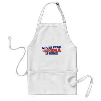 Never fear grandma is here adult apron