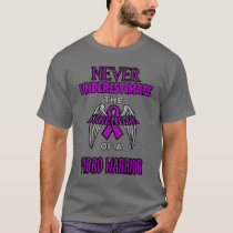 Never...Fibro Warrior T-Shirt