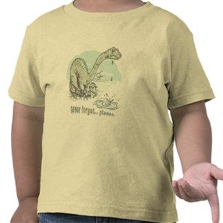 Never Forget 2 Sad Sauropod by Mudge Studios Shirts