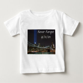 Never Forget 9/11/01 Baby T-Shirt