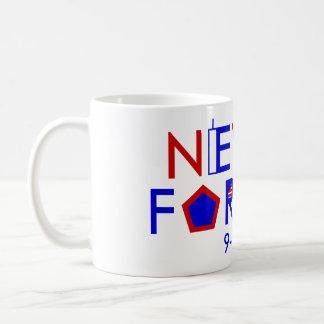Never Forget 9-11-01 Coffee Mug