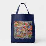 Never Forget 9/11/01! Grocery Tote Tote Bag