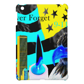 Never Forget 9-11-01 Negative iPad Mini Covers