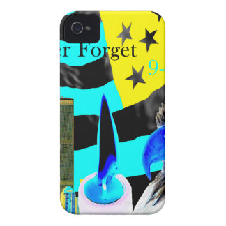 Never Forget 9-11-01 Negative iPhone 4 Case-Mate Case