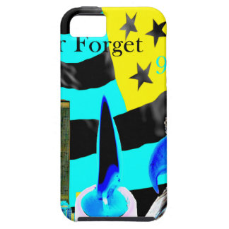 Never Forget 9-11-01 Negative iPhone SE/5/5s Case