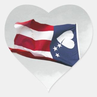 Never Forget 9/11 Broken Hearts Heart Sticker