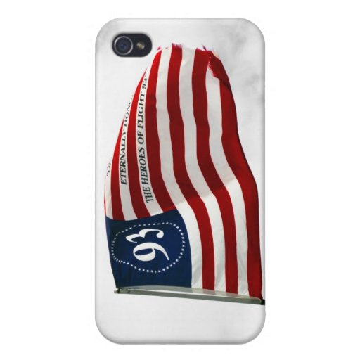 Never Forget 9/11- Flight 93 Covers For iPhone 4