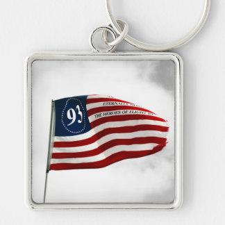 Never Forget 9/11- Flight 93 Keychain