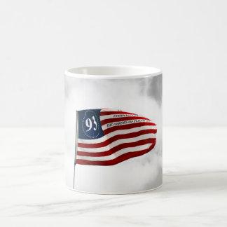 Never Forget 9/11- Flight 93 Classic White Coffee Mug