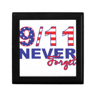 Never Forget 9/11 Jewelry Box