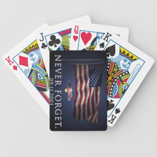 Never Forget 9/11 Playing Cards