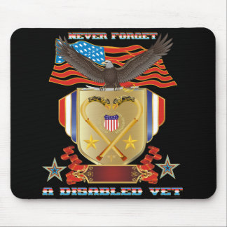 Never Forget A Disabled Vet Mouse Pad