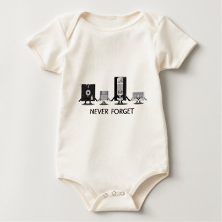 Never Forget Baby Bodysuit