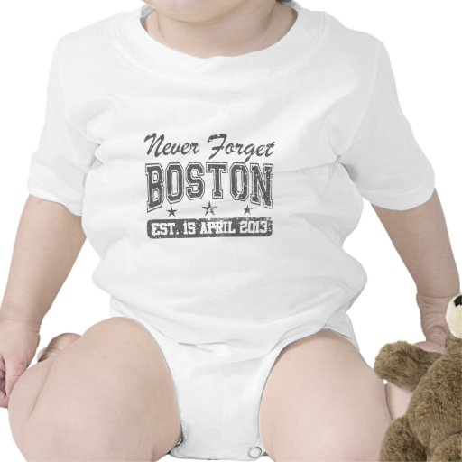 Never Forget Boston T Shirts