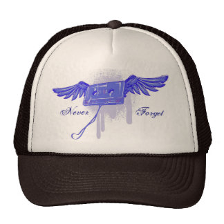 Never Forget (Cassette Tape) Hats