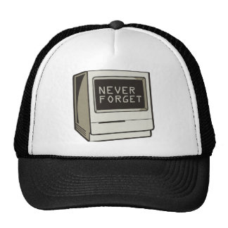 Never Forget Computer Mesh Hat