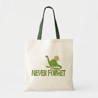 Never Forget Dinosaur Bags