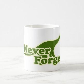 Never Forget Dinosaurs Classic White Coffee Mug