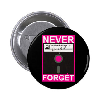 Never Forget Disk Button