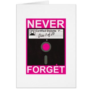 Never Forget Disk Cards