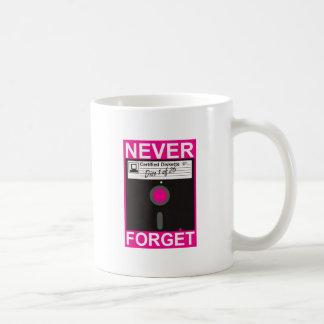 Never Forget Disk Coffee Mug