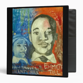 "Never Forget Emmett Till Signature 1.5"" Binder"
