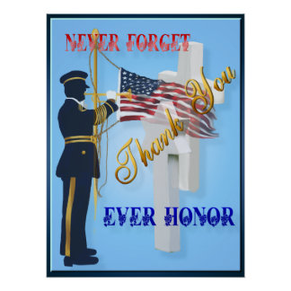 Never Forget-Ever Honor Poster