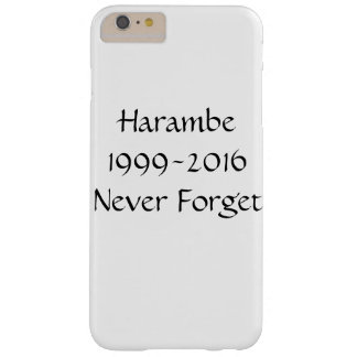 Never Forget Harambe Phone Case