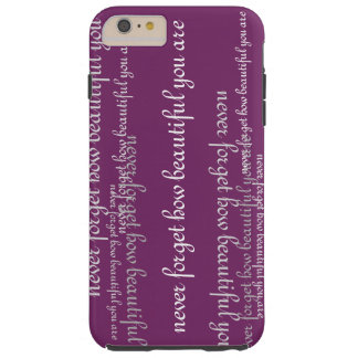Never Forget iPhone 6 Tough Case