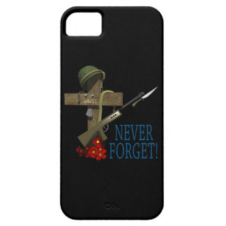 Never Forget iPhone SE/5/5s Case