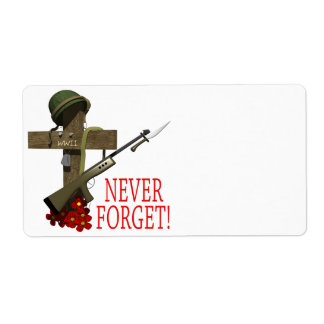 Never Forget Label