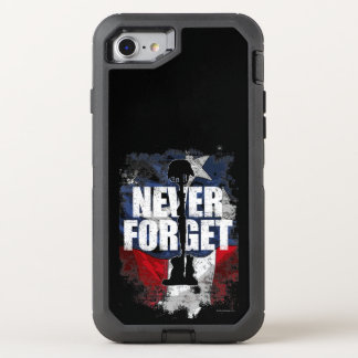 Never Forget (Memorial Day) OtterBox Defender iPhone 7 Case