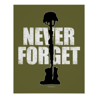 Never Forget (Memorial Day) Poster