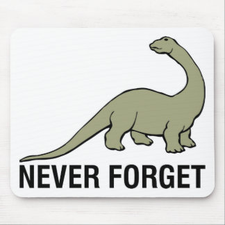 Never Forget Mouse Pad