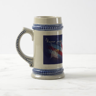 Never Forget 18 Oz Beer Stein