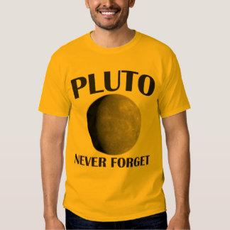 NEVER FORGET: PLUTO SHIRT