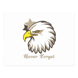 Never Forget Post Card