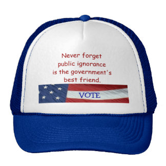 Never Forget Public Ignorance  Hat