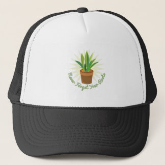 Never Forget Roots Trucker Hat