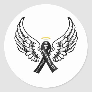 Never Forget Sandy Hook Elementary Classic Round Sticker