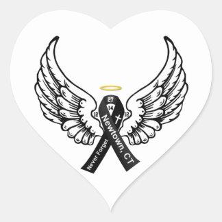 Never Forget Sandy Hook Elementary Heart Sticker