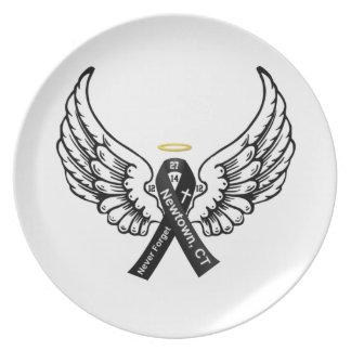 Never Forget Sandy Hook Elementary Melamine Plate