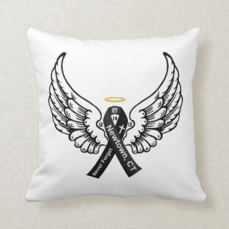 Never Forget Sandy Hook Elementary Throw Pillow